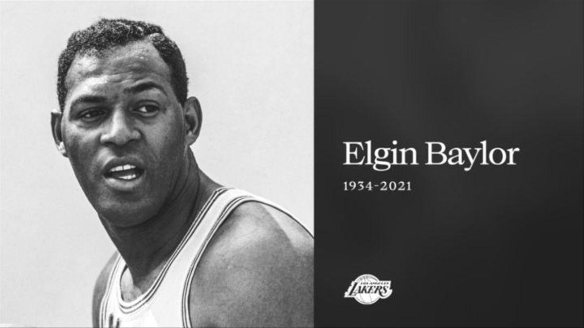 Muere la leyenda de los Lakers Elgin Baylor