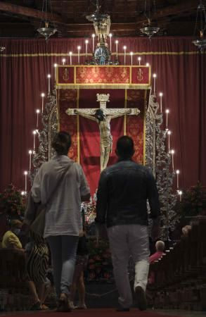 Obras en el Santuario del Cristo de La Laguna