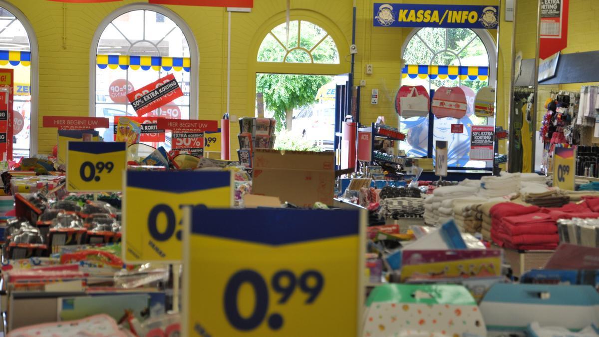 Fotografía de archivo de una tienda 'Zeeman'.