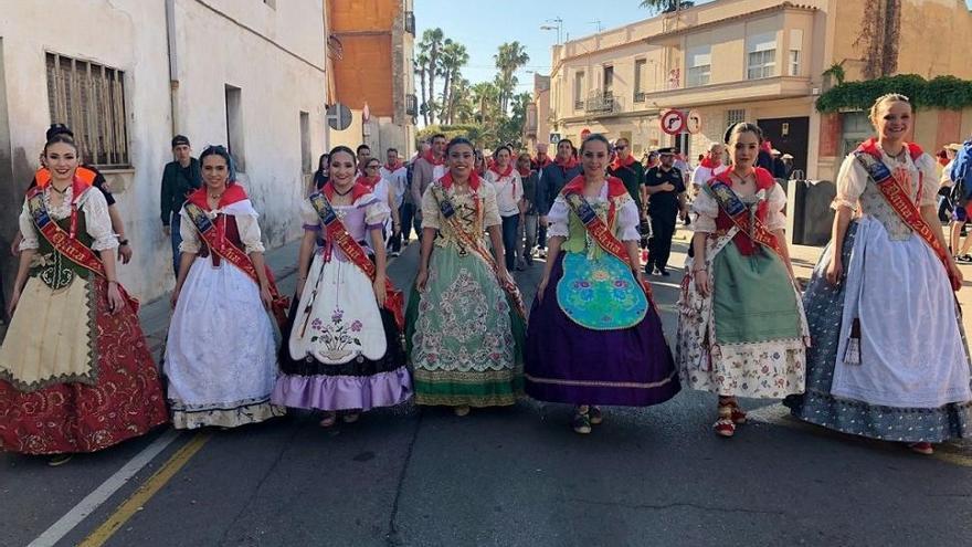 La Romería a Santa Quitèria congrega a 9.000 fieles en Almassora