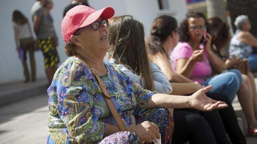 La abuela Josefa regresa al hospital en la víspera de su ingreso en prisión