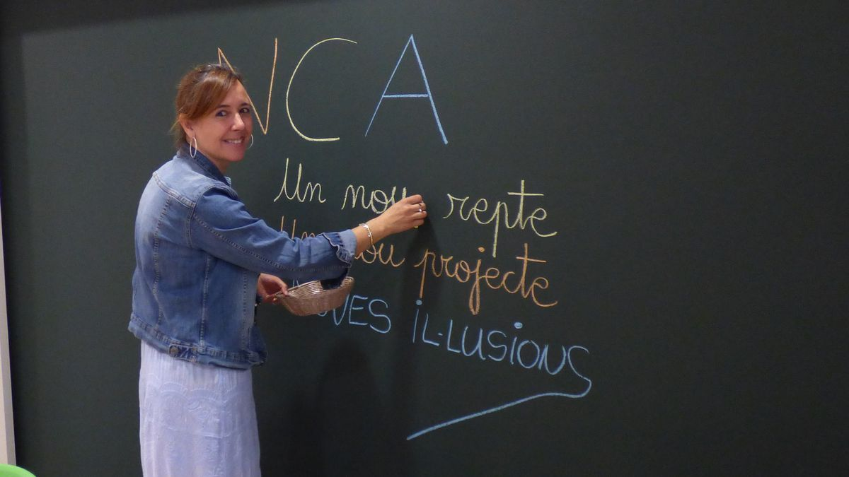 Mercè Llansana és la cap d'estudis d'Educació Infantil de La Salle Figueres