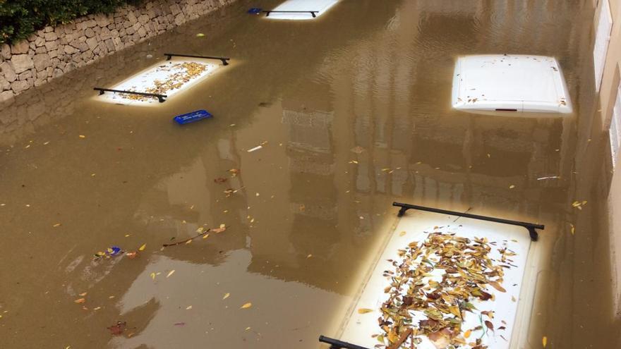 El diluvio de Domingo de Pascua que inundó Xàbia