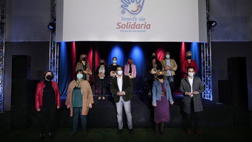 Premio a los solidarios de Tenerife en año de pandemia