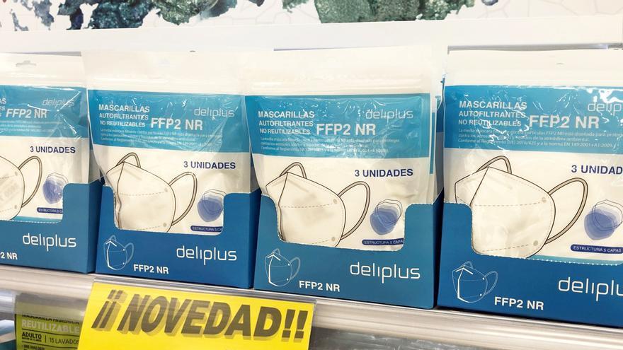 Mercadona comienza a vender mascarillas FFP2