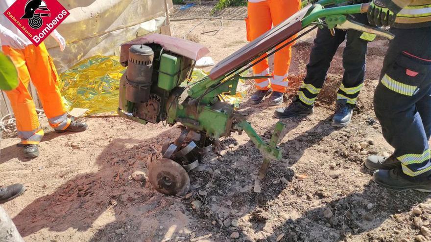 Fallece un hombre tras sufrir un accidente agrícola en Guardamar del Segura