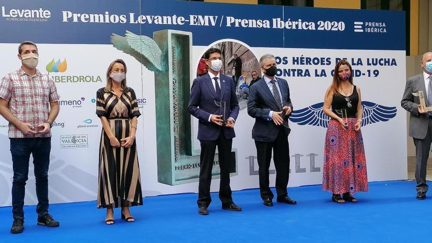 Levante-EMV premia la solidaridad