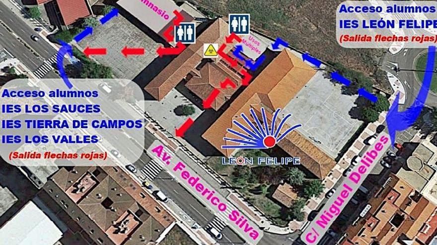 180 alumnos listos para la prueba de la EBAU en Benavente