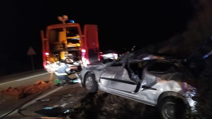 Un fallecido en un nuevo accidente en la N-122 en Trabazos