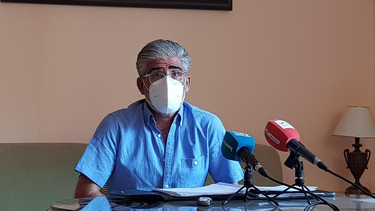 Eduardo Gómez, presidente de la Comunidad de Regantes de Jauja.