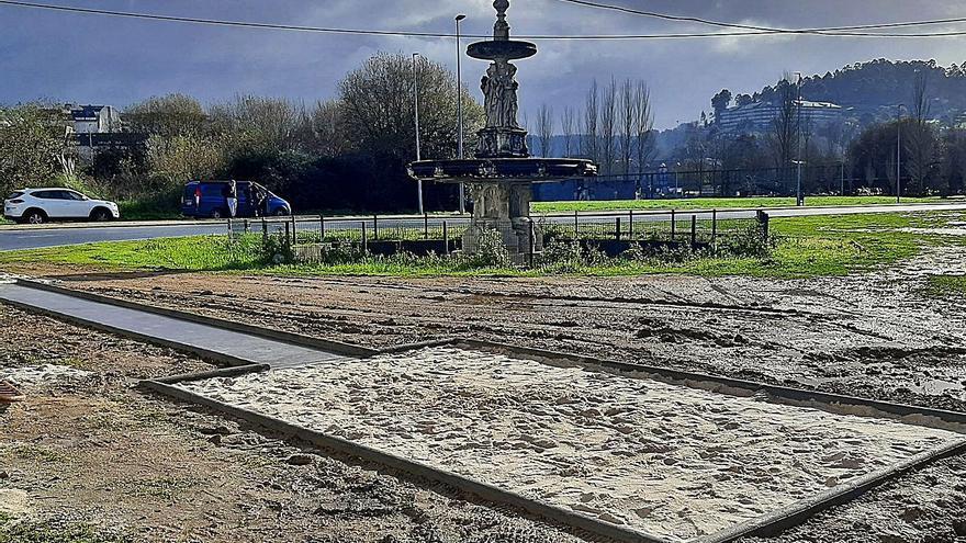 Patrimonio investiga la ejecución de una pista de salto junto a la fuente de O Pasatempo