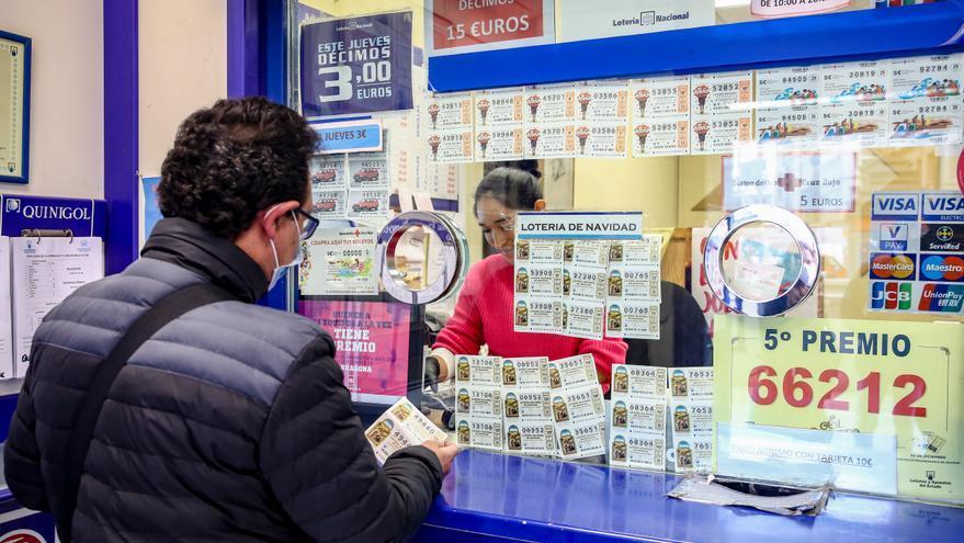 El segundo premio de la Lotería Nacional, vendido íntegramente en València
