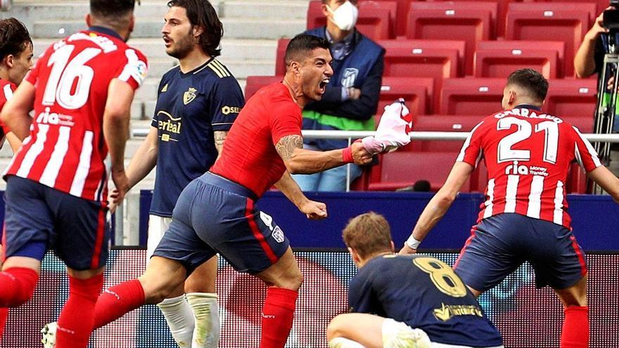 Suárez dona mitja Lliga a l'Atlètic
