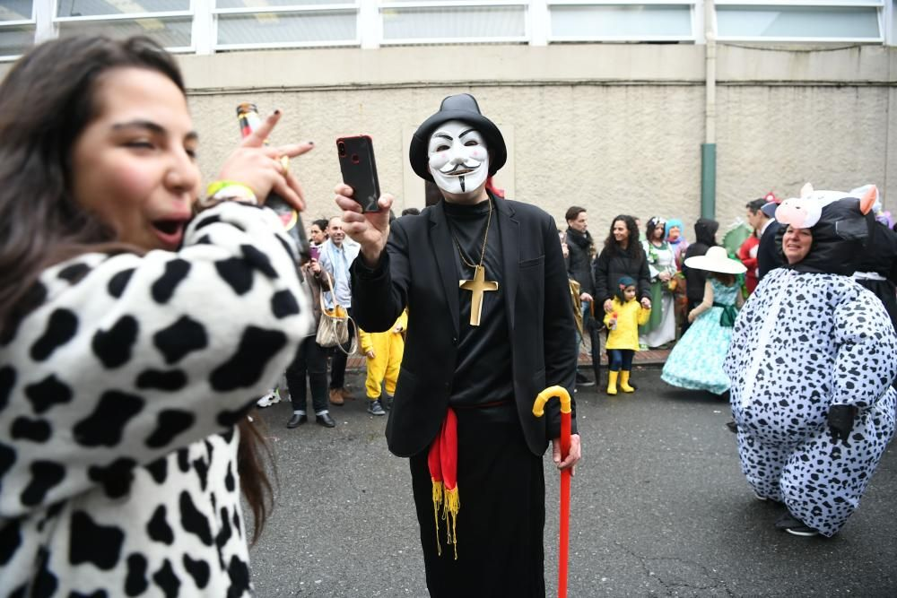Martes ''choqueiro'' en A Coruña pese a la lluvia
