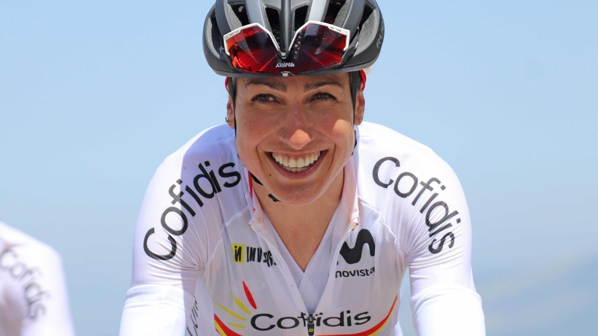 Mavi García, quinta en el Giro de Italia.