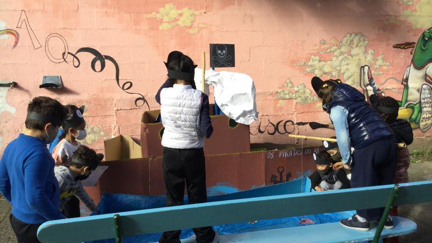 """Un """"escape room"""" no CEIP Vicente Risco polo Día da Educación Física na rúa"""