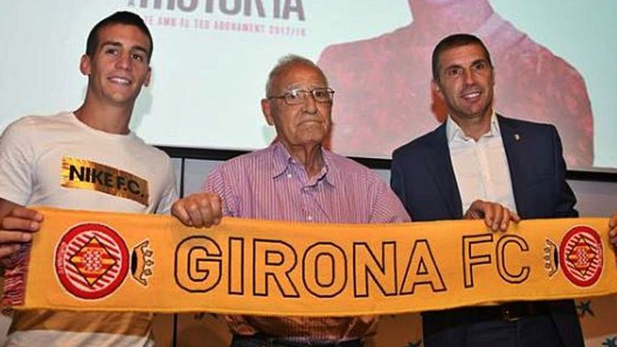 Mor als 86 anys l'exjugador del Girona Pere Colomer