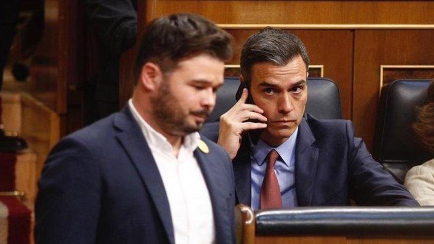 ERC mantiene el 'no' al estado de alarma tras los contactos 'in extremis' con el PSOE