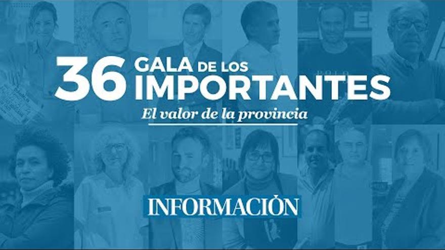 Sigue en directo la gala de los «Importantes» de INFORMACIÓN