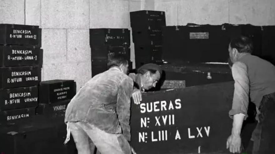 Castellón afronta el arranque de las exhumaciones en el Valle de los Caídos