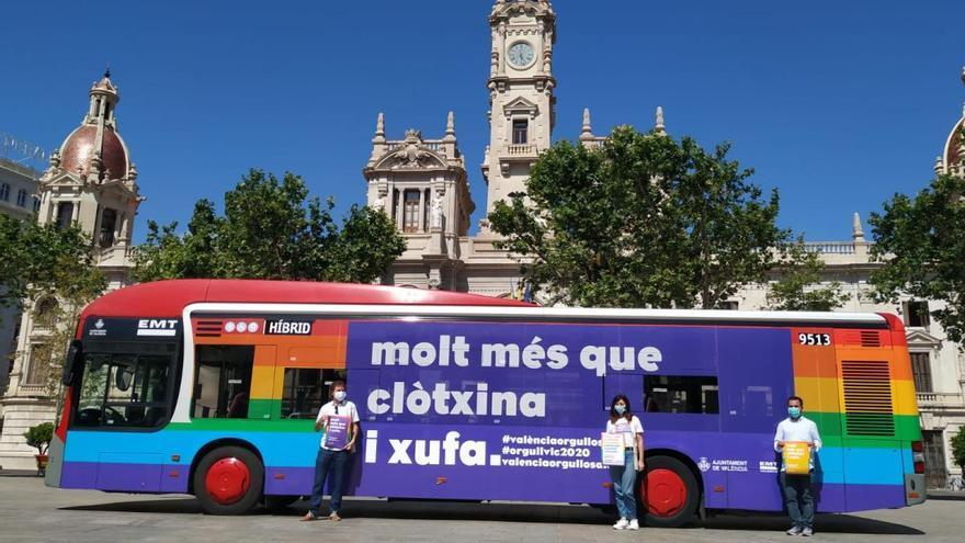 Un Orgullo sin desfile pero con reivindicación en València