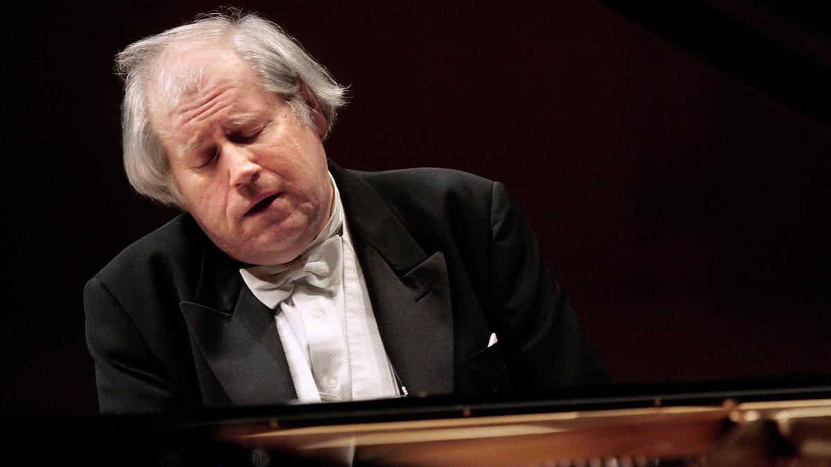 El prestigioso pianista Grigory Sokolov.