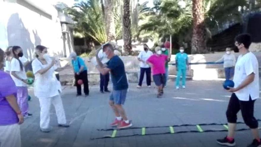 La Asociación Parkinson Gran Canaria celebra el día de la enfermedad