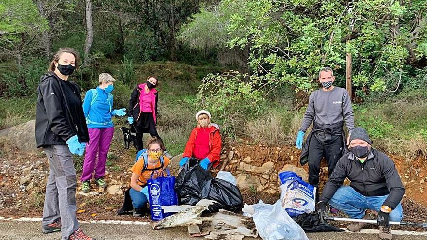 Ruta de limpieza del medio ambiente