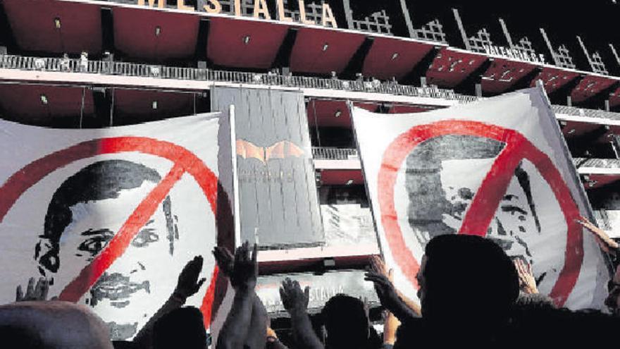 Un presidente 'amigo' de la polémica en Mestalla