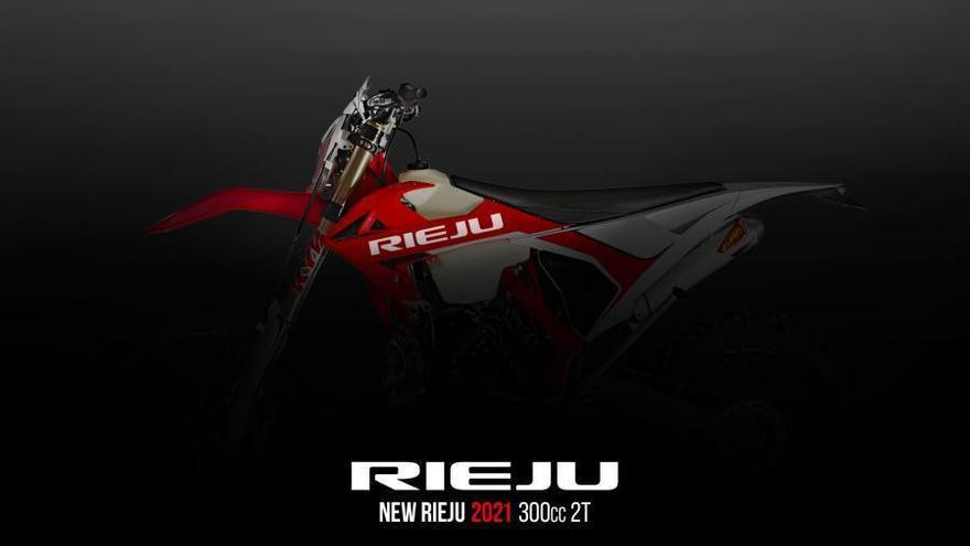 Rieju es fa amb la plataforma industrial d'enduro que comercialitzava Gas Gas