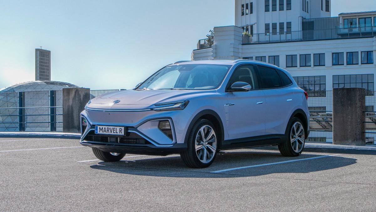 MG inicia los pedidos del Marvel R Electric, su SUV eléctrico con hasta 402 km de autonomía