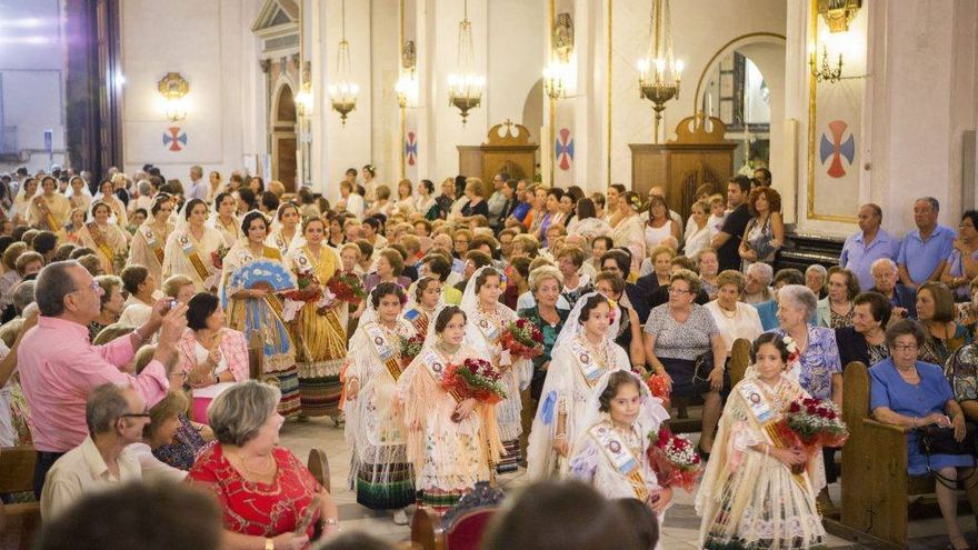 Monóvar celebra hoy la Ofrenda a la patrona