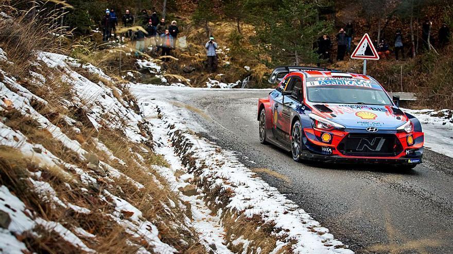 Toyota, Hyundai y Ford en el Montecarlo, primer rallye del año