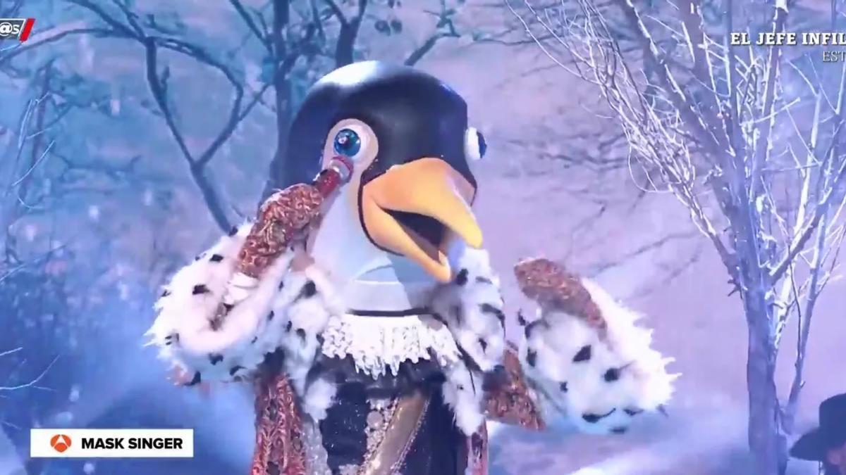 Pepe Reina, pingüino en Mask Singer