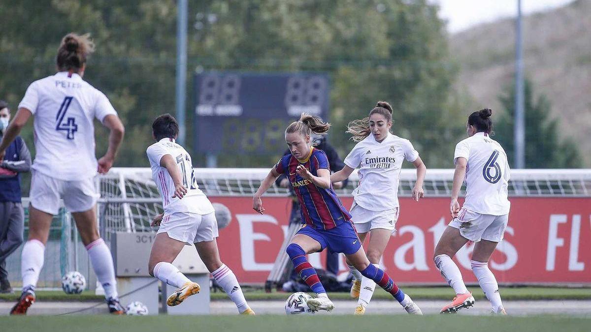 La hora del clásico femenino en el Johan Cruyff