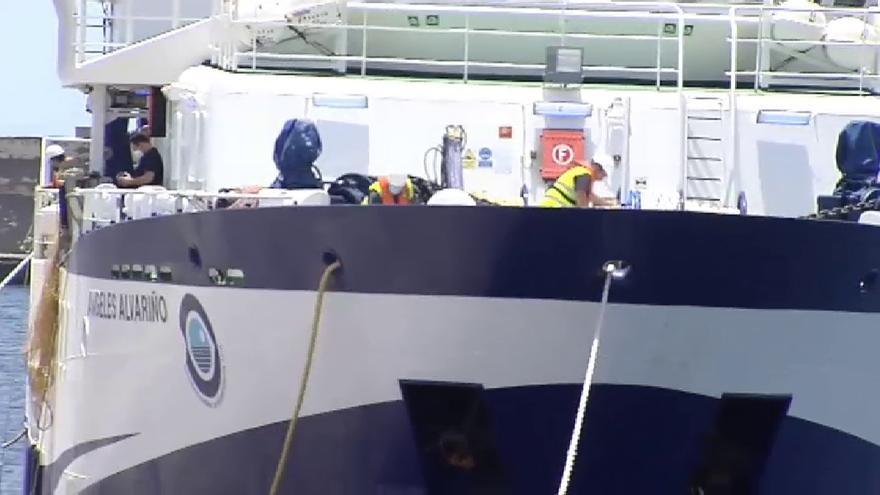Reanudan la búsqueda de Tomás Gimeno y su hija Anna en Tenerife