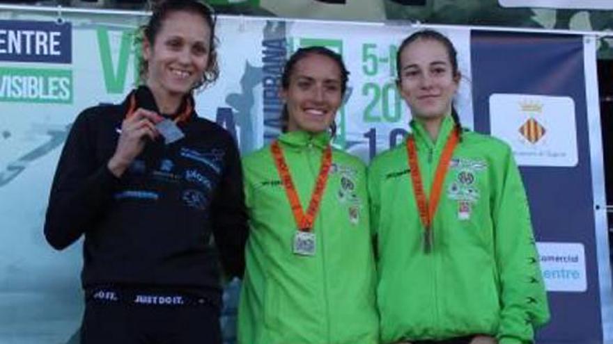 La atleta almusafense Laura Méndez, campeona autonómica en 1.609 metros