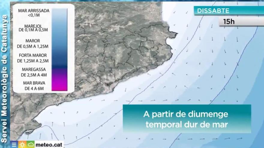 Protecció Civil activa l'alerta per vent a Catalunya