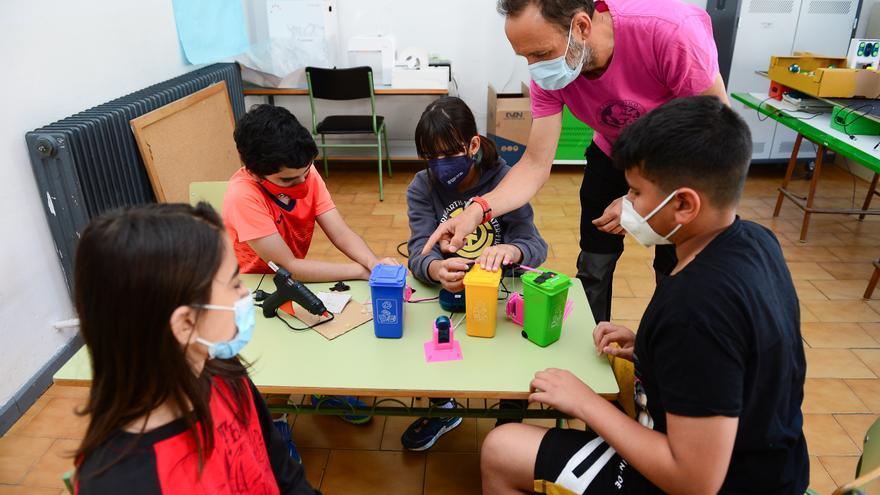 El colegio Ramón y Cajal de Plasencia, a por un premio de robótica