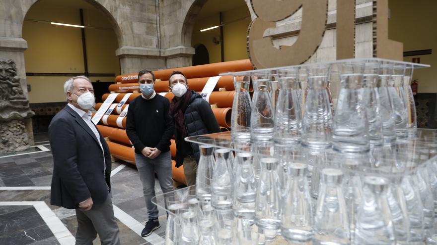 La historia del agua de Gijón, en exposición