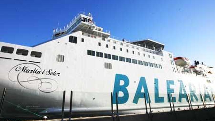 Baleària unirá Barcelona con Ibiza con un ferri a gas natural