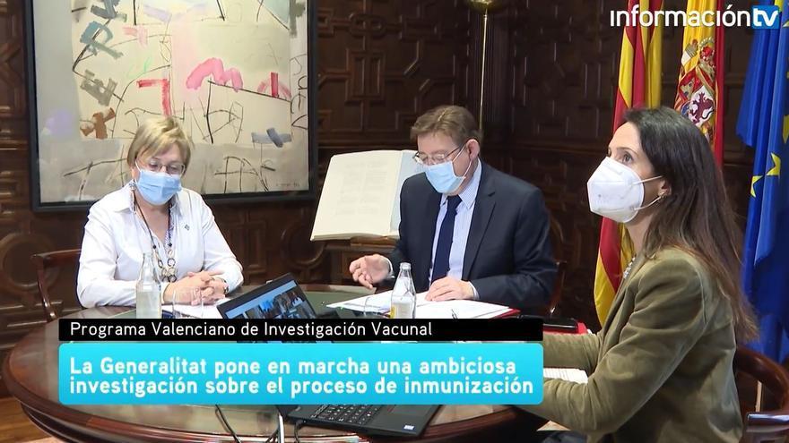 La Generalitat Valenciana pone en marcha una ambiciosa investigación sobre el proceso de vacunación