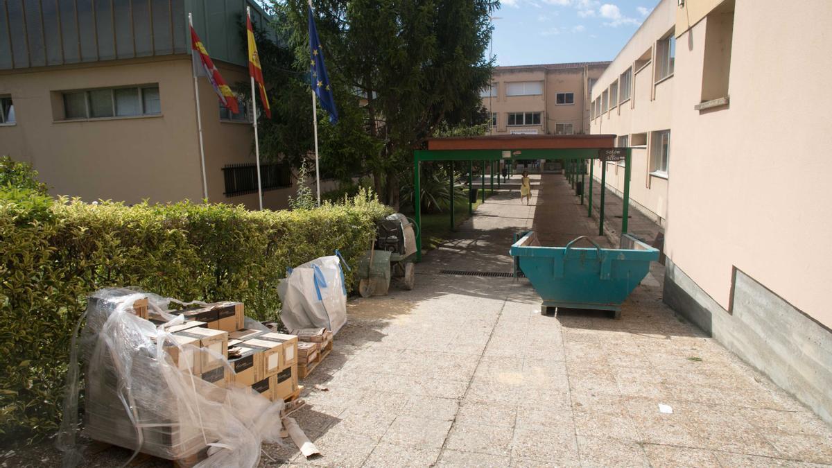 Obras de cursos pasados en el IES Río Duero
