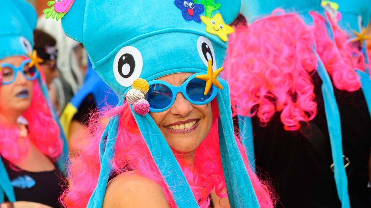 Mascaritas en el Carnaval de Día de Vegueta.