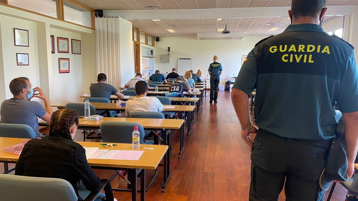Un total de 441 personas opositan en Baleares a una de las 2.091 plazas ofertadas en toda España para ser guardia civil
