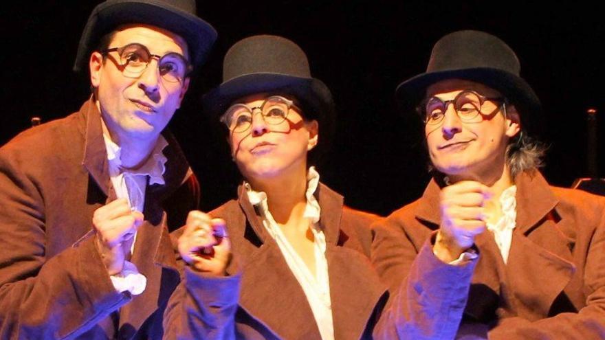 """Teatro infantil: """"Riquete el del copete"""""""