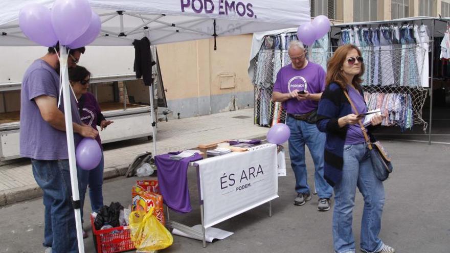 El círculo de Podemos es cada vez  más estrecho en La Ribera