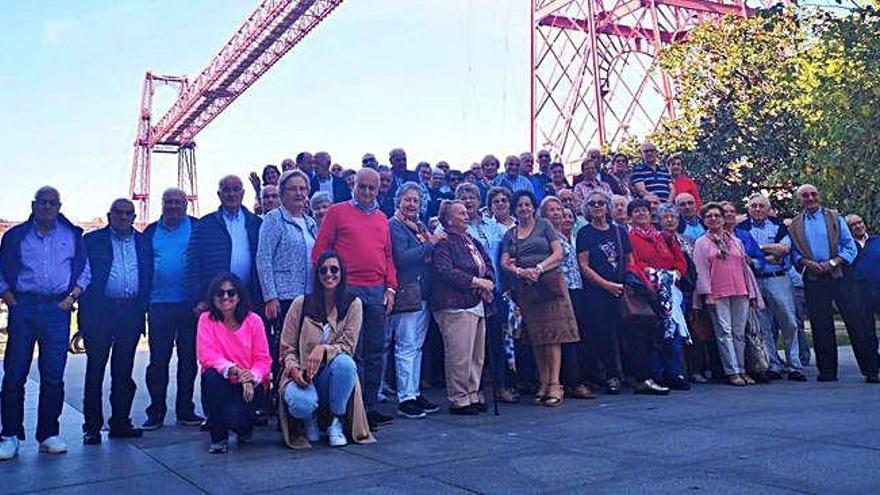 Mayores de Oza-Cesuras viajan al País Vasco