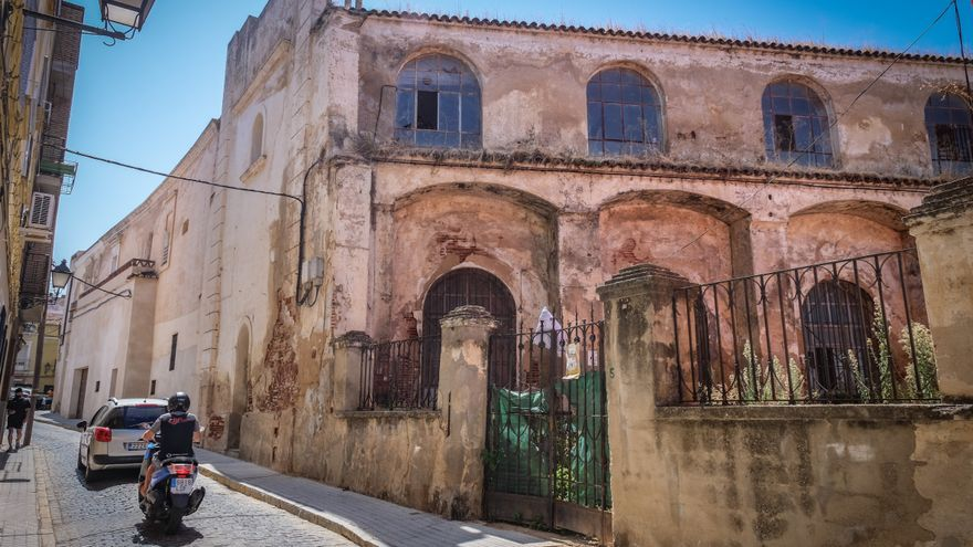 El antiguo colegio San Pedro de Alcántara, en camino de ser escuela de artes y oficios