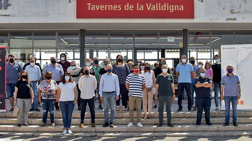 Compromís reclama la transferència de Rodalies davant l'abandó de l'Estat